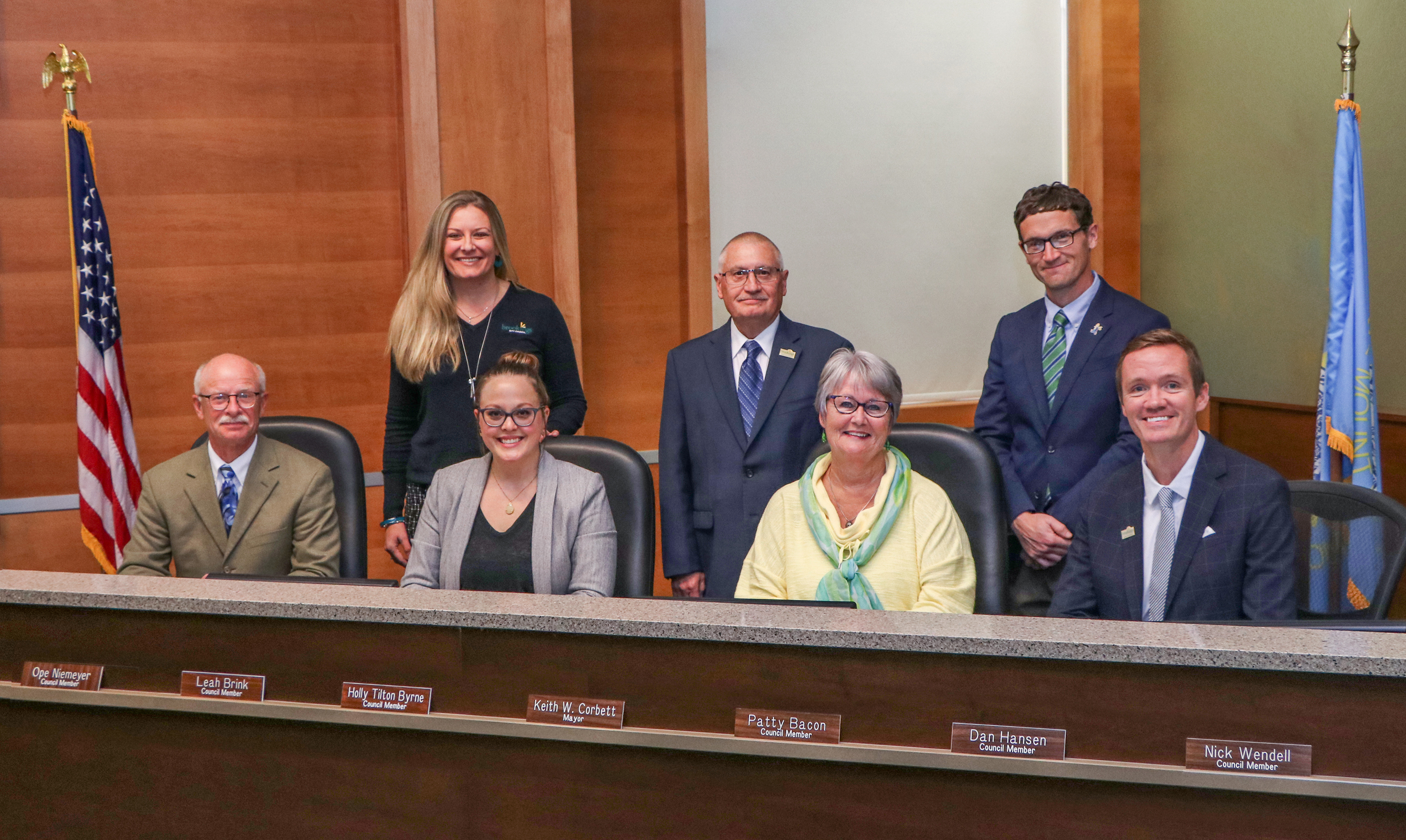 Brookings City Council Members 2019