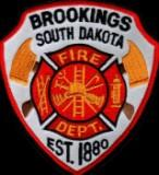 Brookings Fire Department Patch