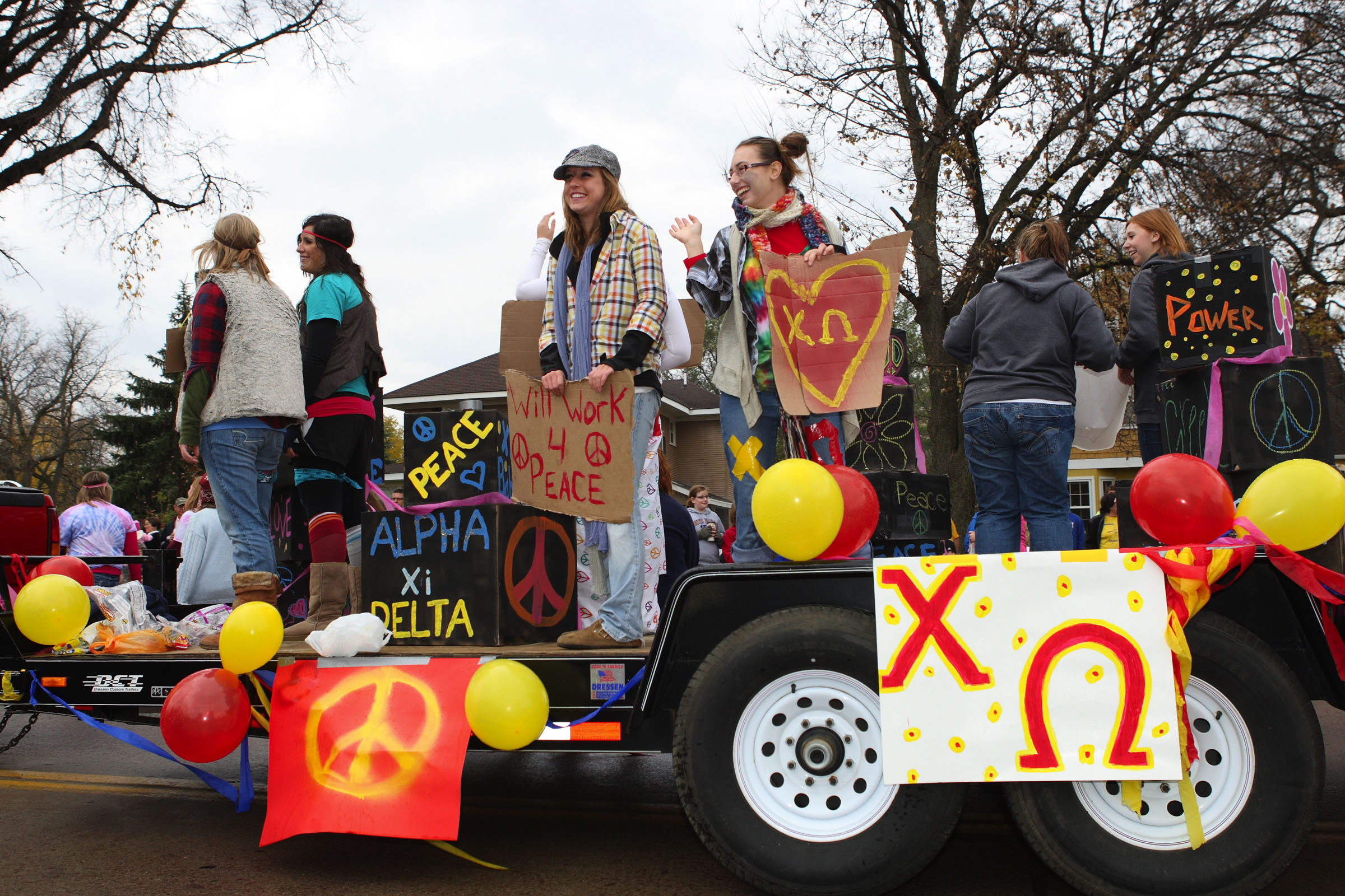 Alpha Xi Delta Float