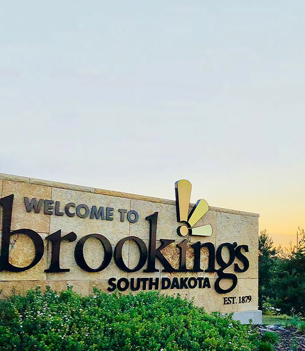 Brookings Entryway Sign