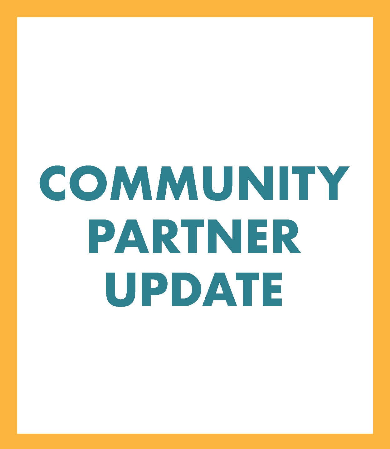 Community Partner Update icon