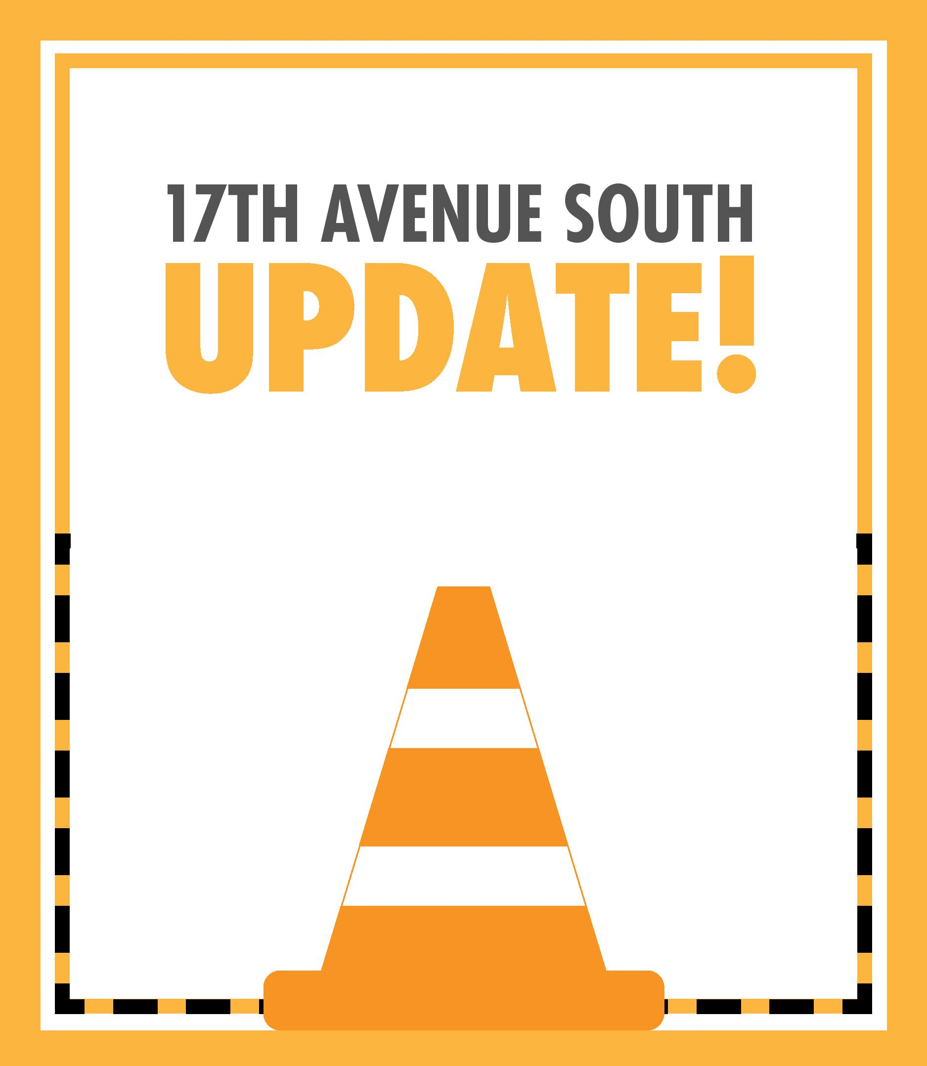 Newsflash Graphics 2020 - 17th Avenue South Update