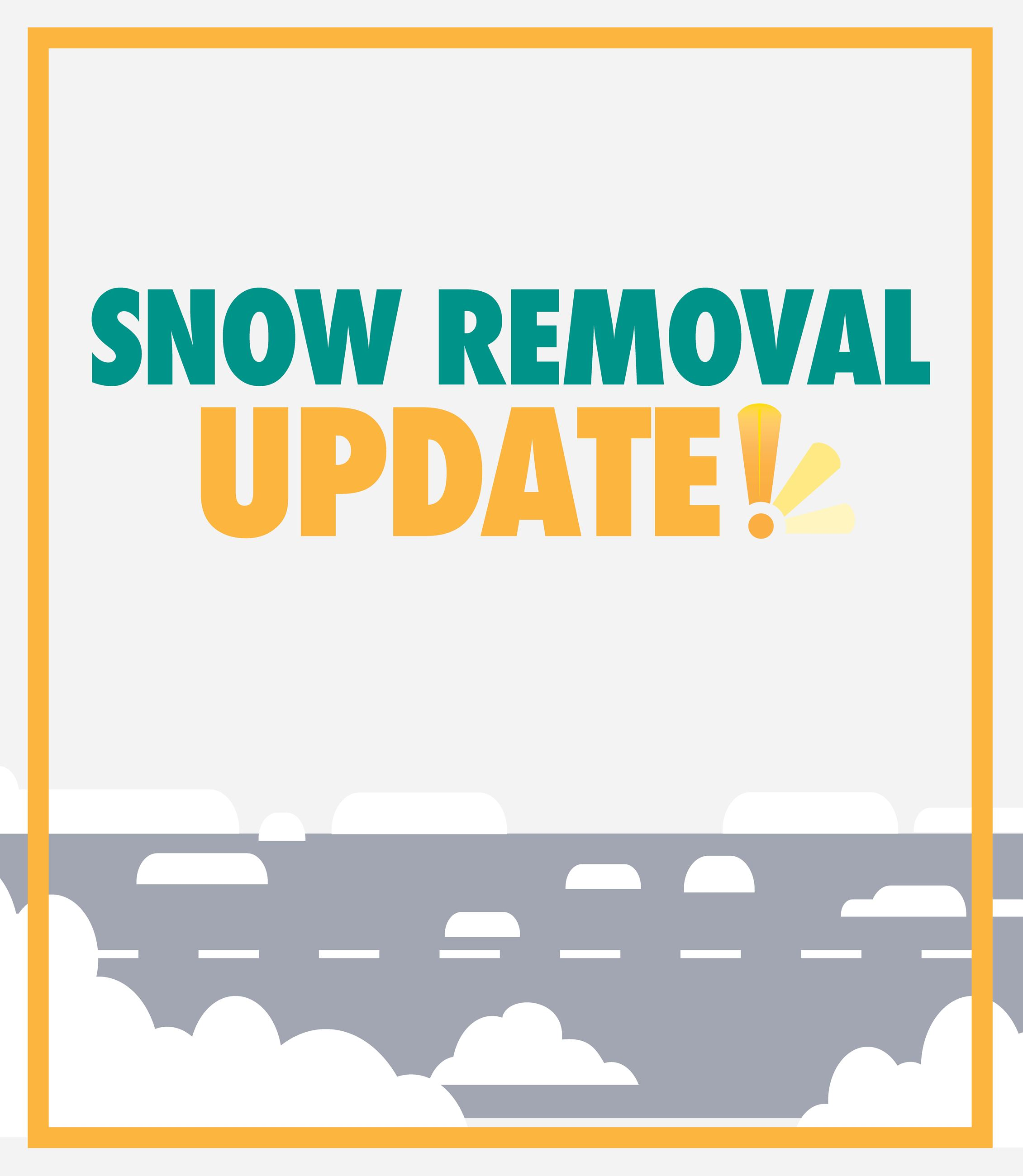 Snow Removal Update