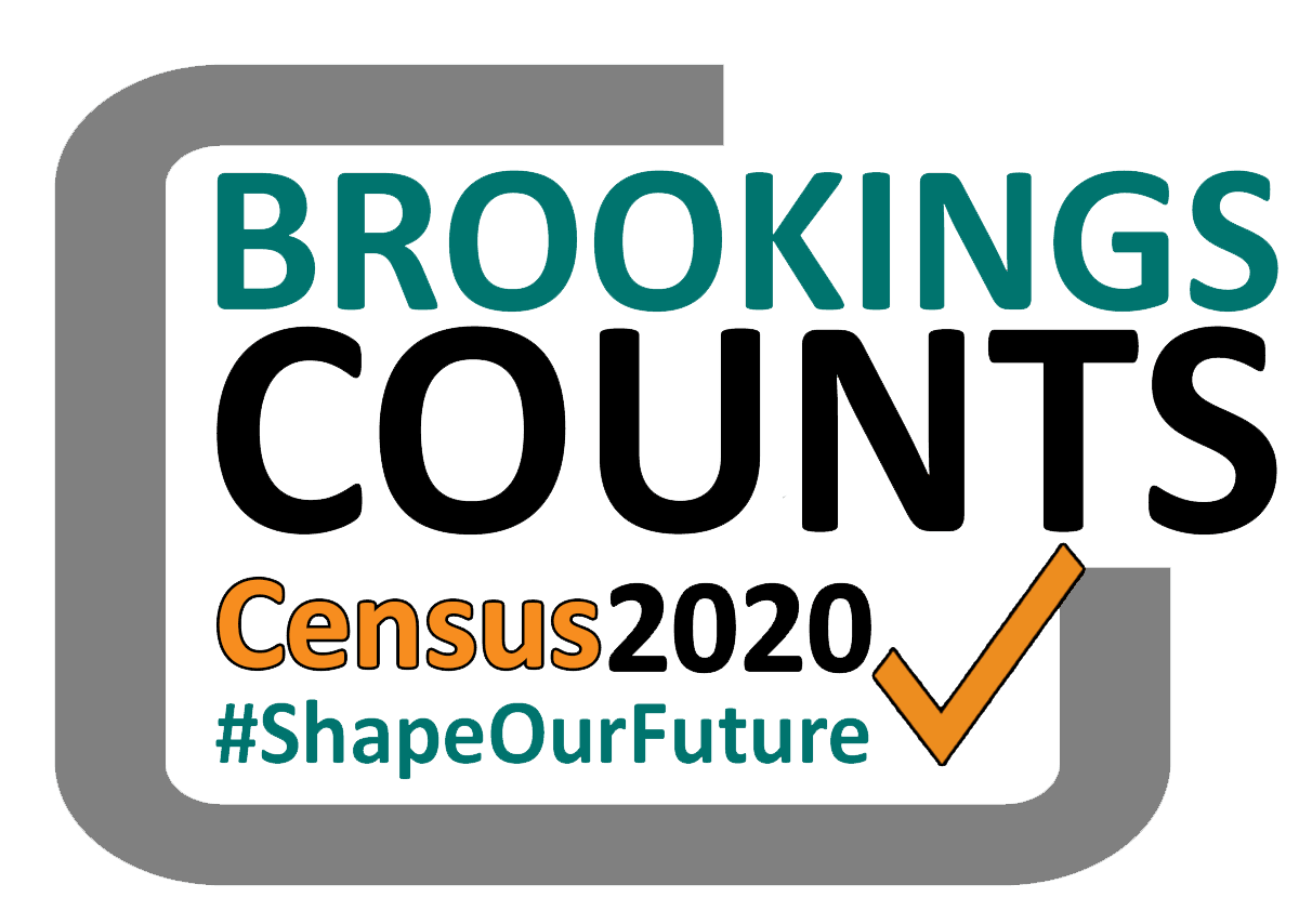 Brookings Counts 2020 Census Logo