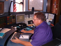 Emergency 9-1-1 dispatcher