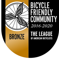 Bicycle Friendly Community Bronze Seal